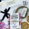 Do-It-Yourself Red and Purple Floral Memorial Forget Me Not Seed Packets